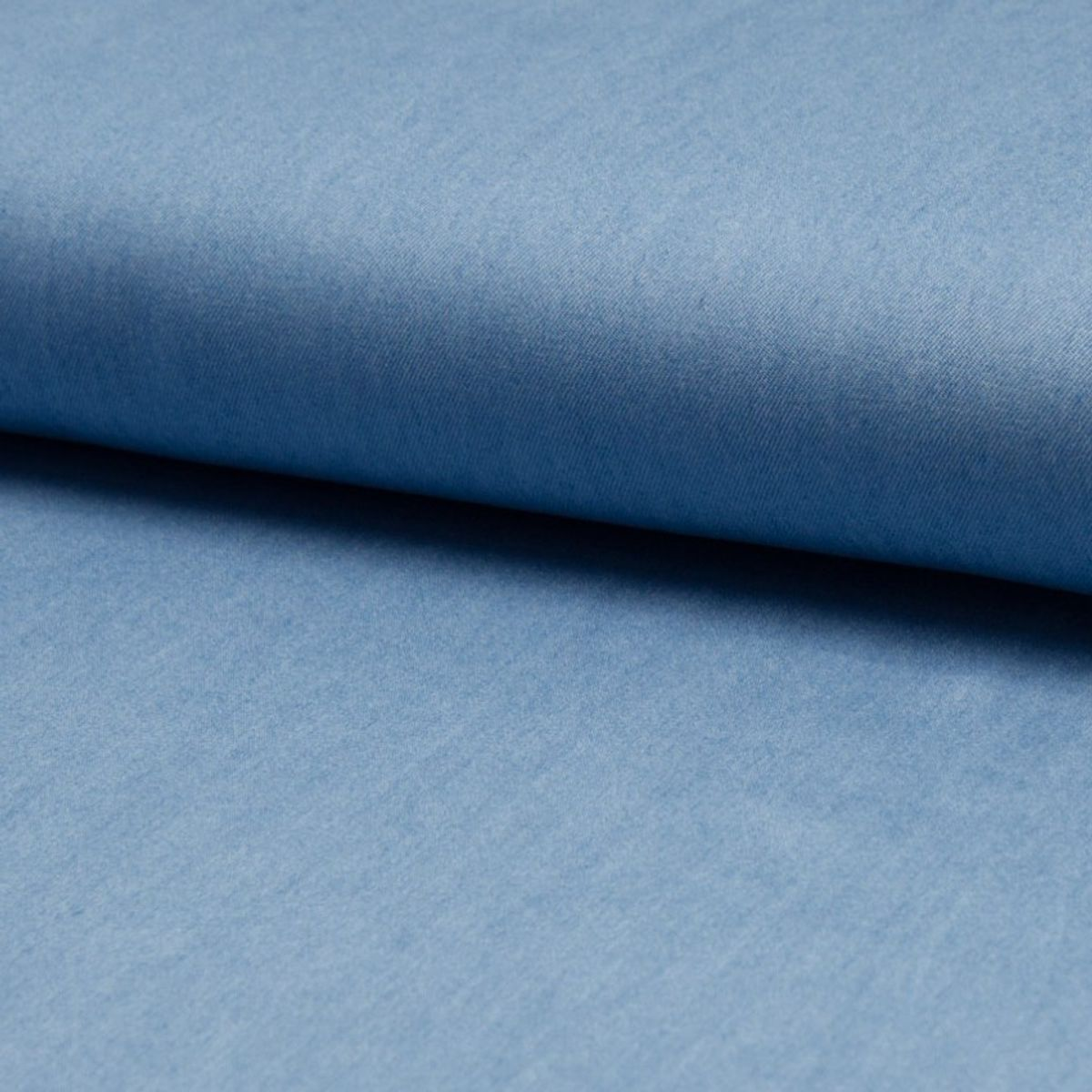 Tissu tencel chambray - Bleu ciel