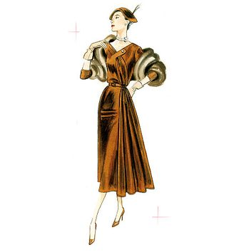 Tissu jersey lourd punto - Cognac