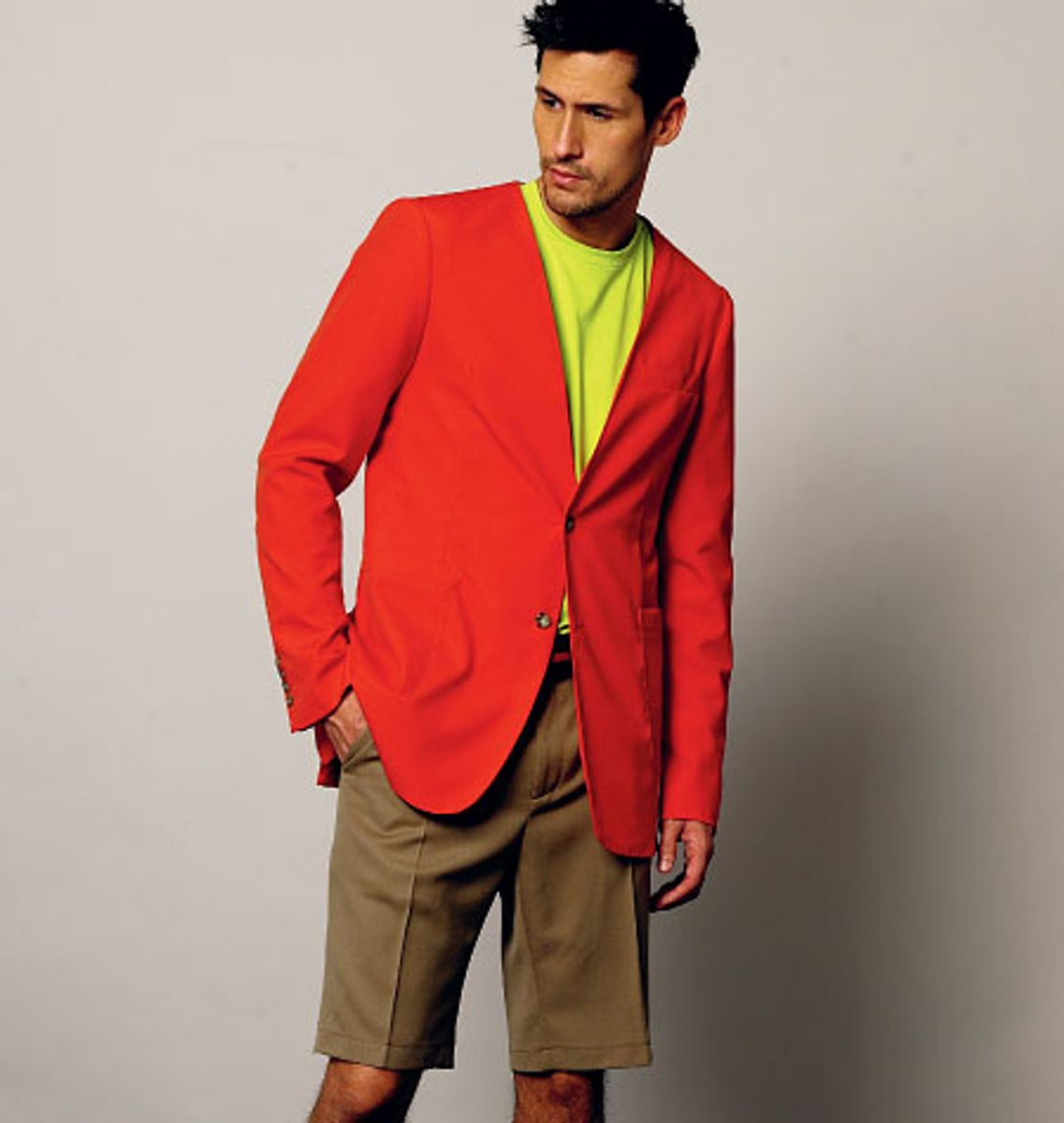 Patron de veste, short et pantalon - Vogue 8890