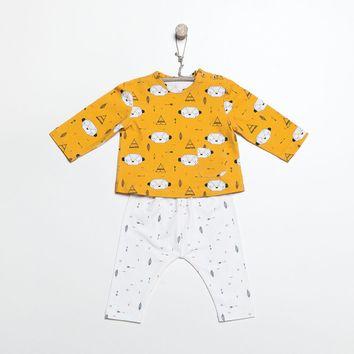 Patron de t-shirt manches longues et legging - Katia Fabrics B2