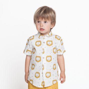 Patron de chemise pour tout-petit - Katia Fabrics L1