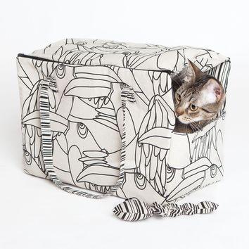 Patron de sac transport pour chat et poisson - Katia Fabrics P3