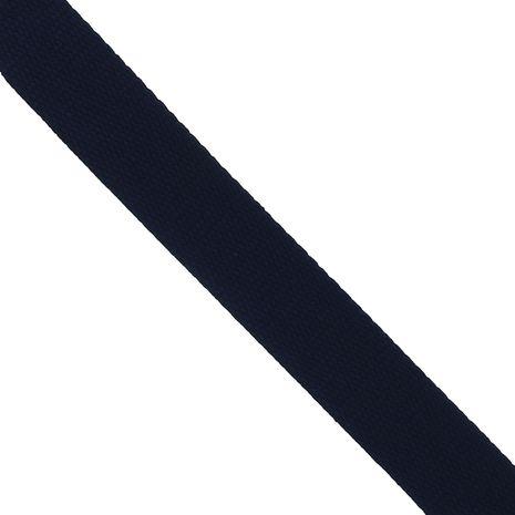 Sangle coton pour sacs - Bleu marine