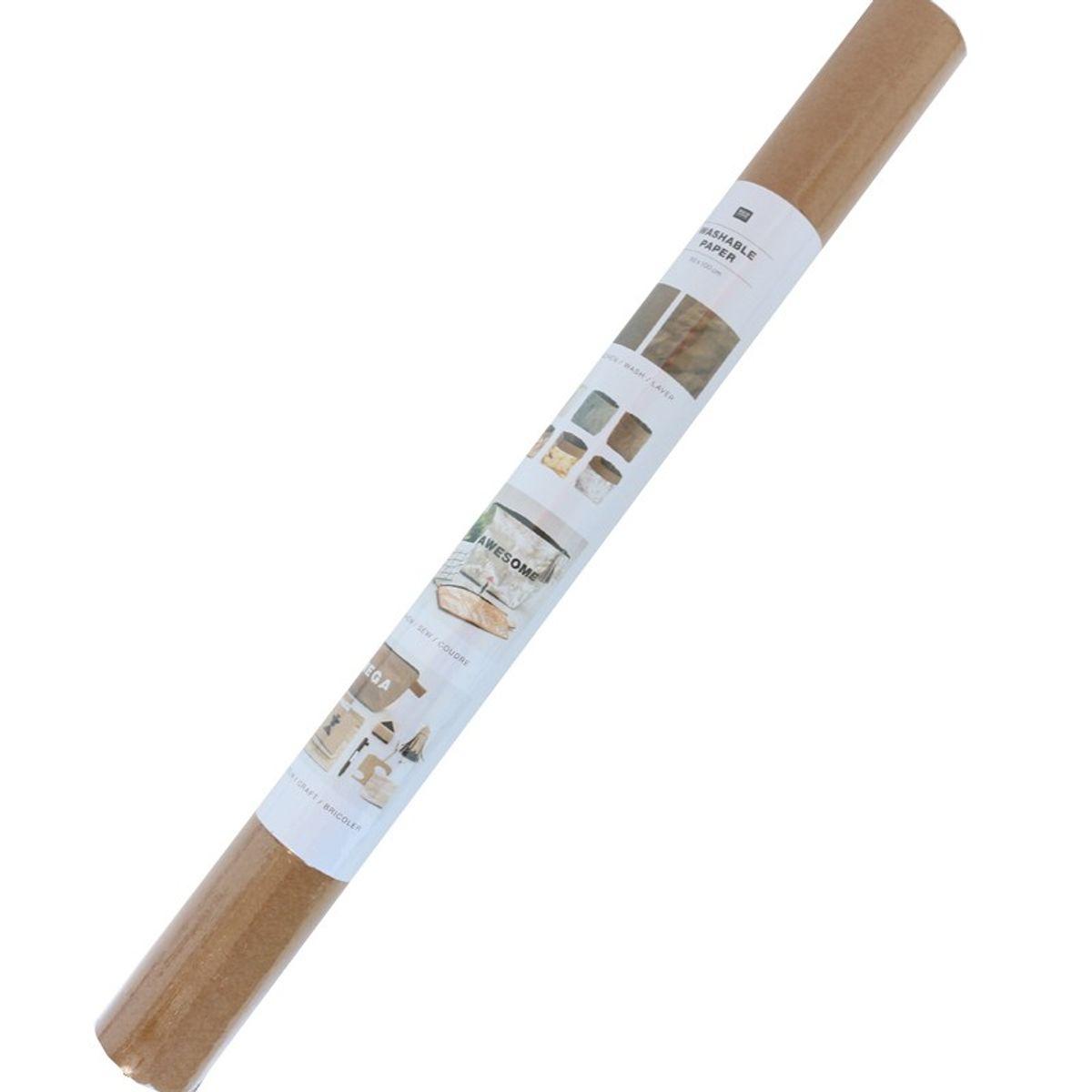 Rouleau papier vegan brun - 50 x 100 cm