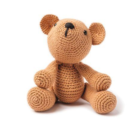 Kit crochet amigurumi - Ourson caramel