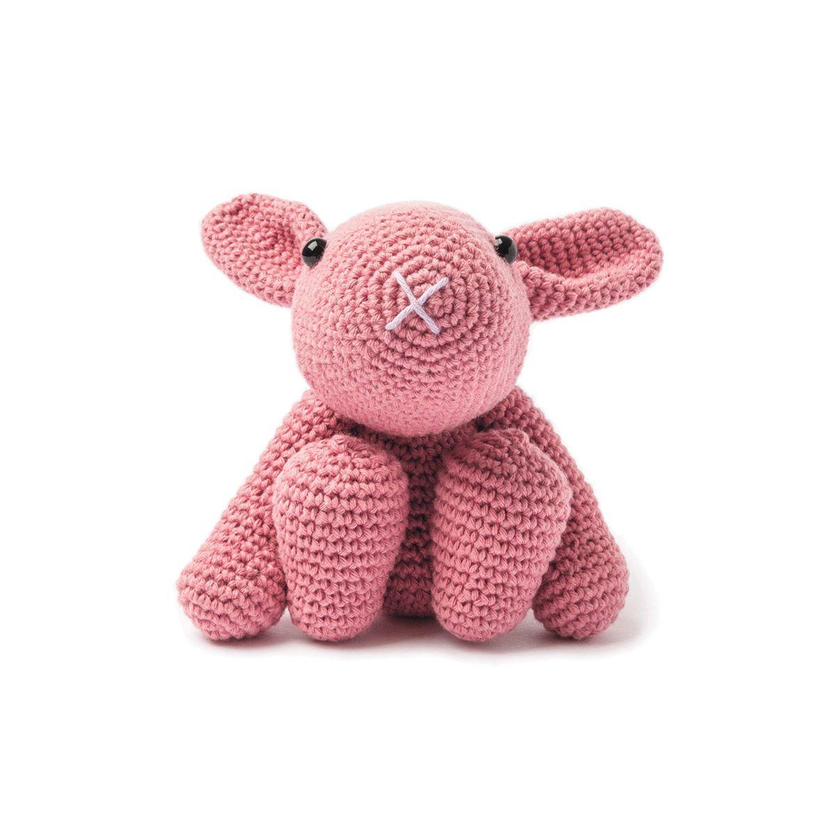 Kit crochet amigurumi - Lapin I vieux rose