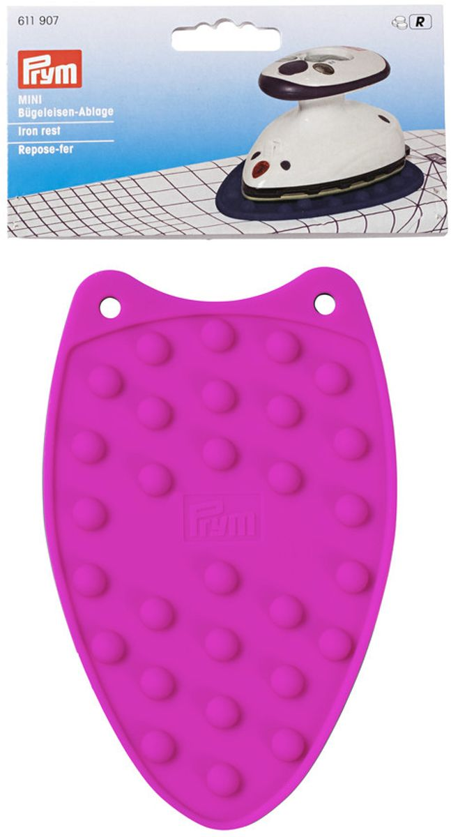 Repose fer mini en silicone - Fuschia