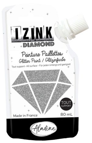 Peinture paillettes IZINK Diamond