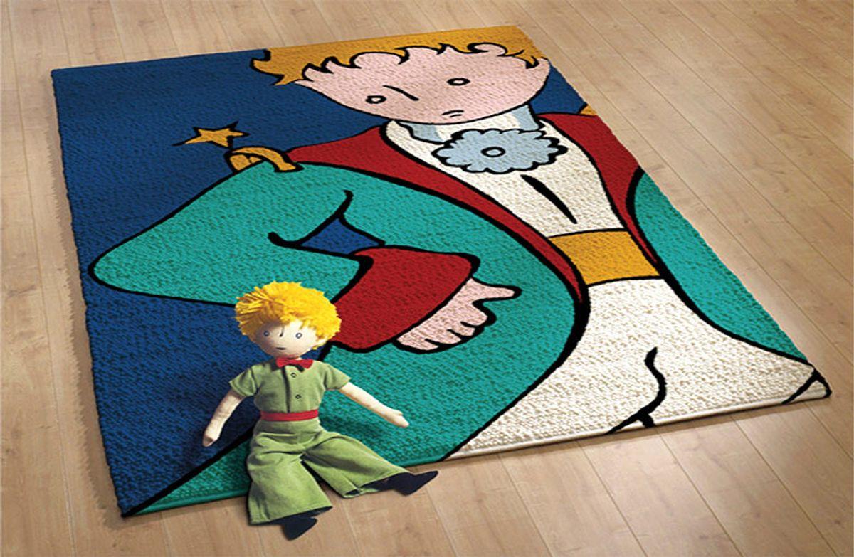Kit tapis au point noué Smyrnalaine - Le Petit Prince