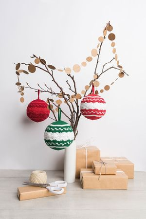 Kit crochet amigurumi - Boule bicolore