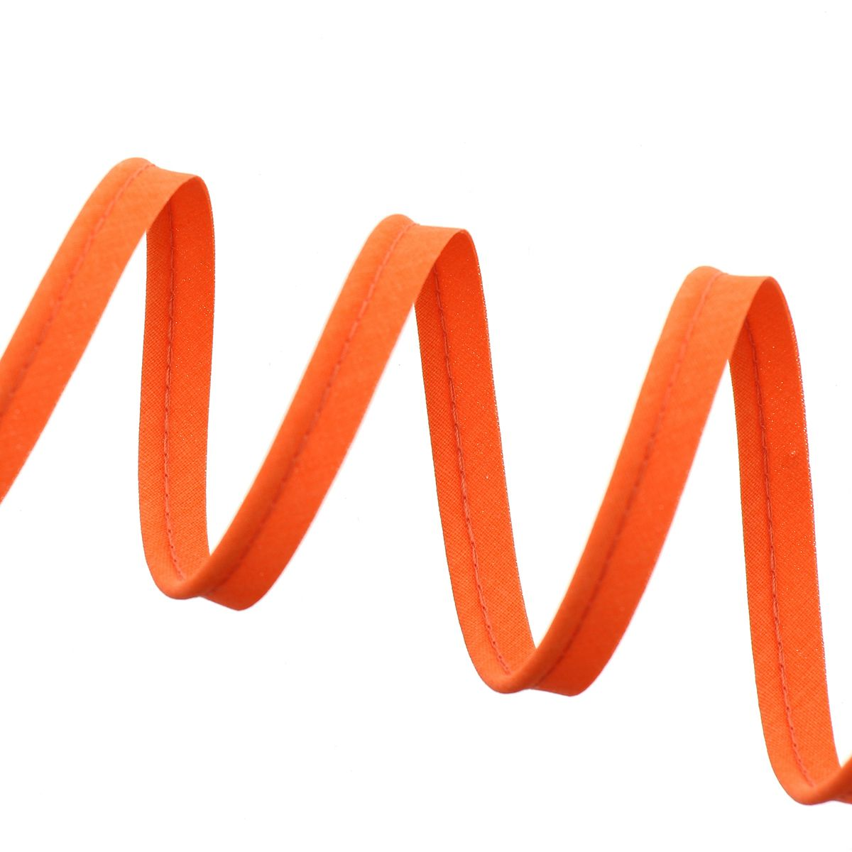Passepoil tout textile 10 mm - Orange fluo