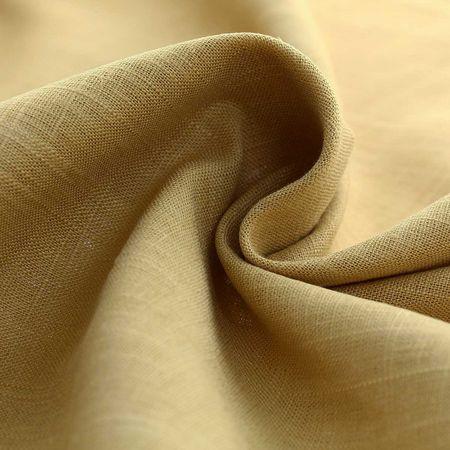 Tissu lin viscose - Ocre