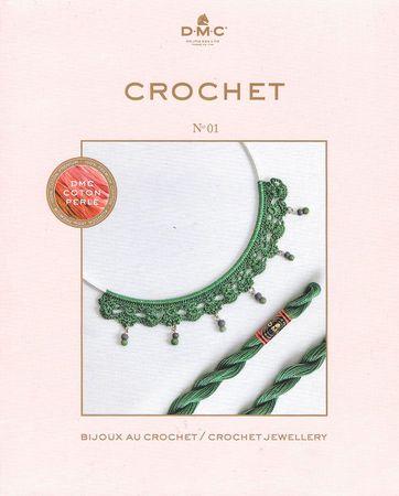 Livre crochet DMC bijoux - N° 01