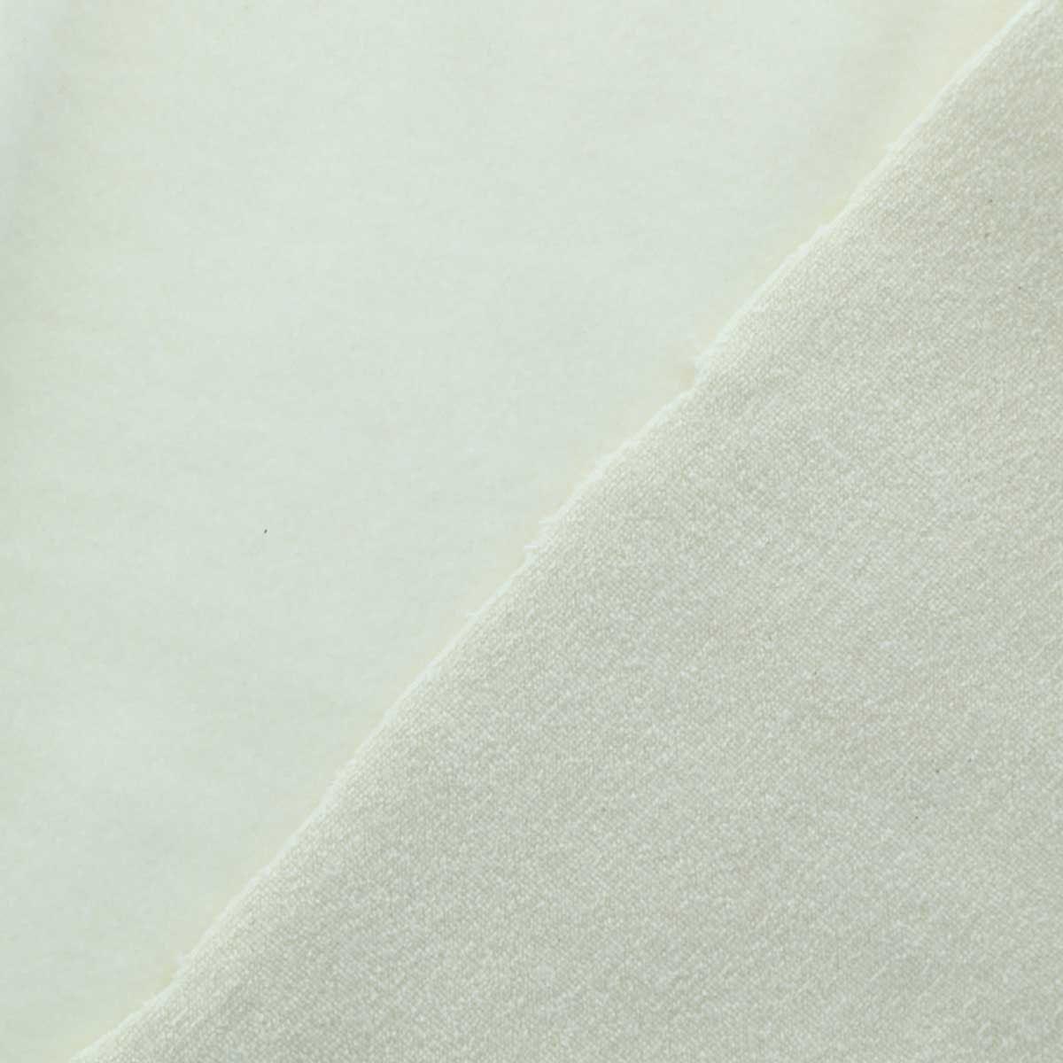 Tissu micro éponge coton bio double face - Eponge et molleton