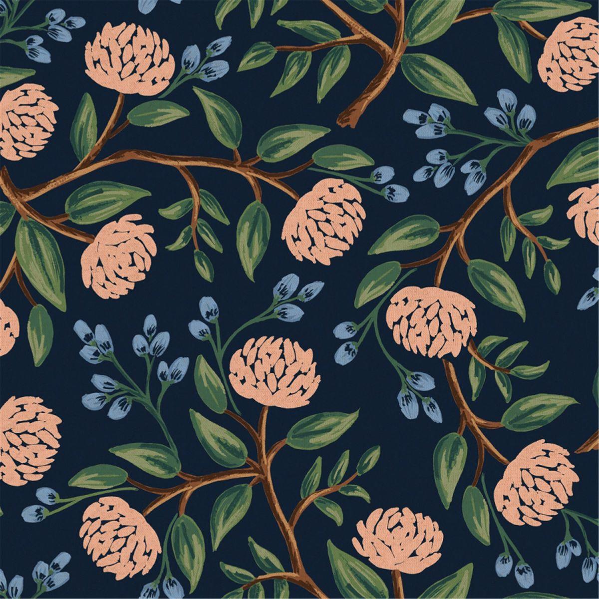 Tissu canvas Cotton+Steel - Peonies