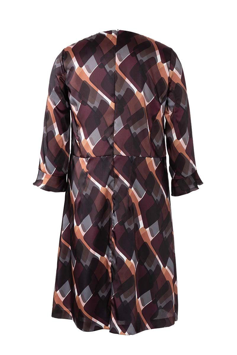 Patron de robe à jupe évasée - Burda 6255