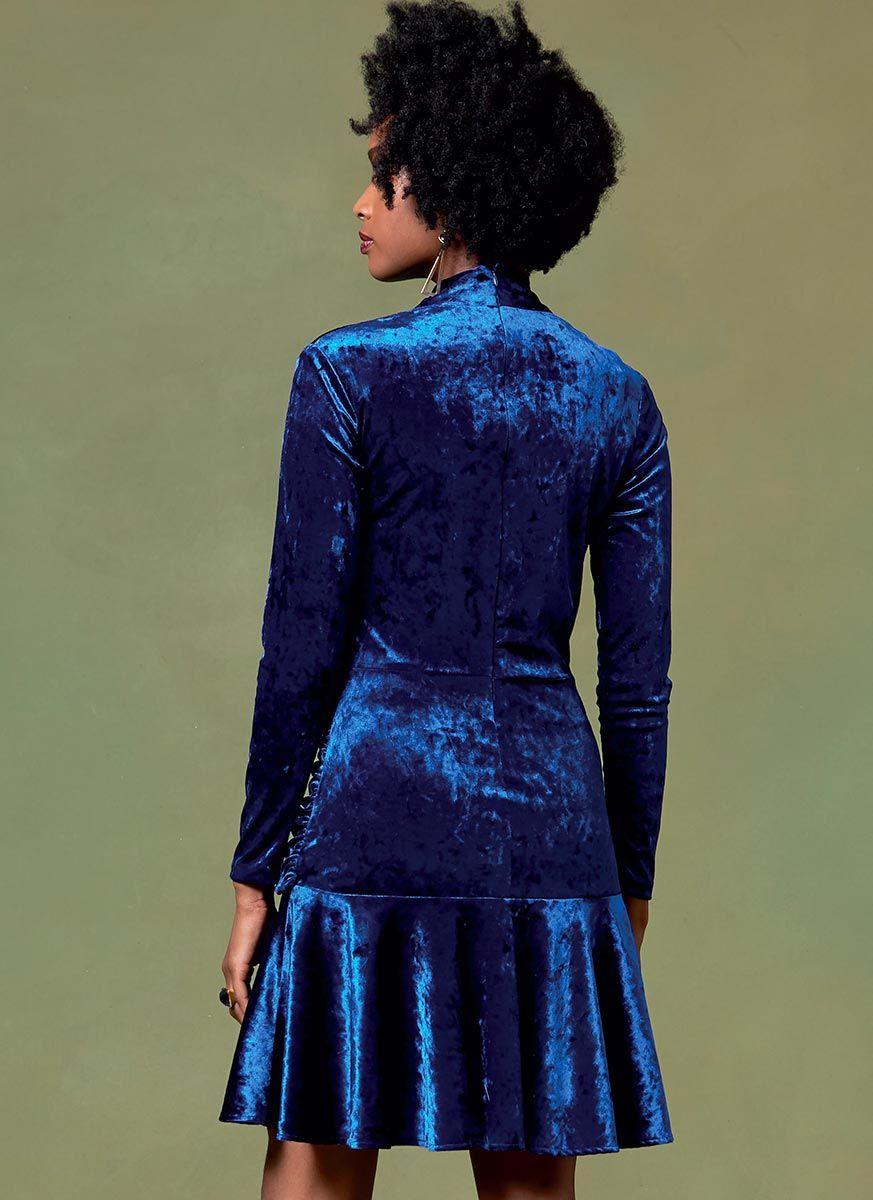 Patron de haut, robe et pantalon - Vogue 1632