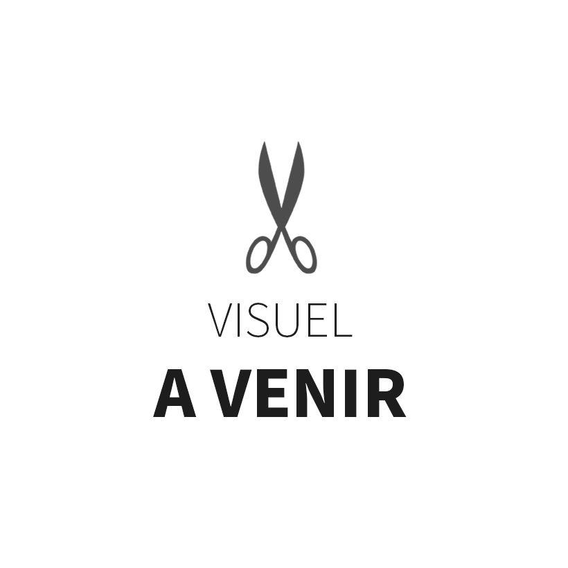 Tissu jersey matelassé France Duval - Noir